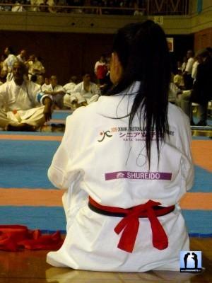 attente échauffement karate okinawa
