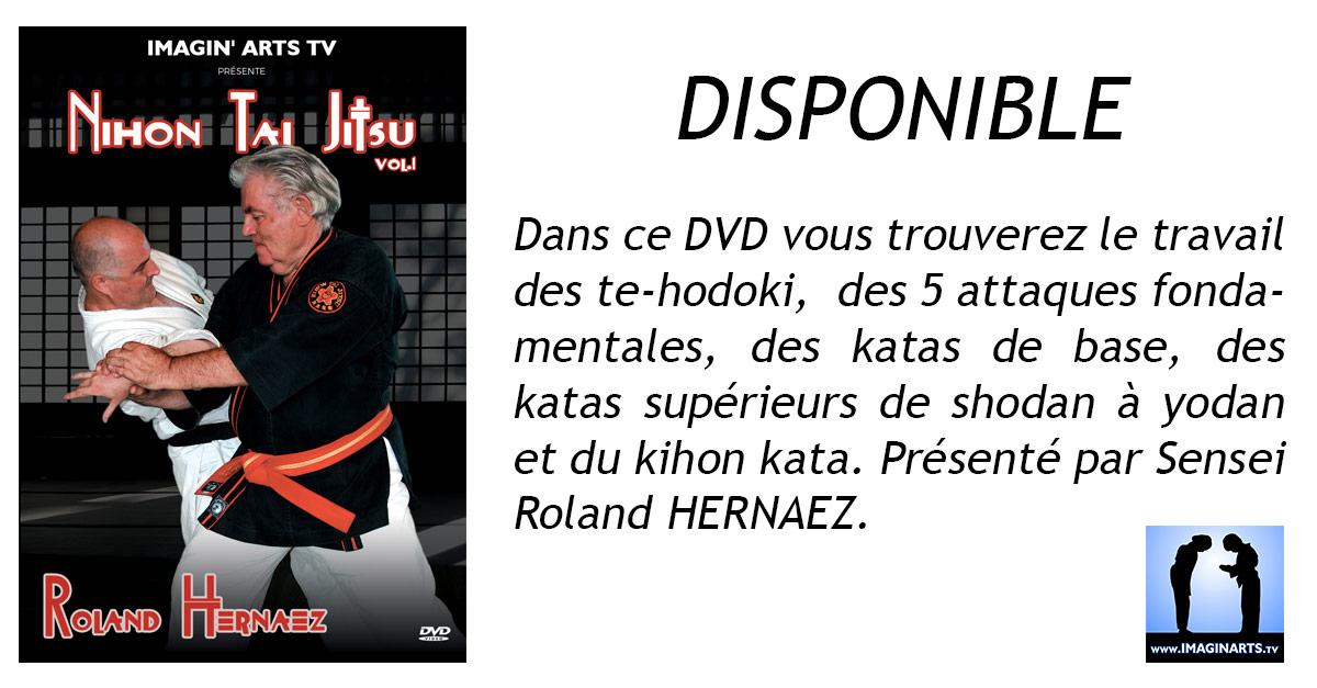 Nihon Tai Jitsu 1 – Réédition DVD