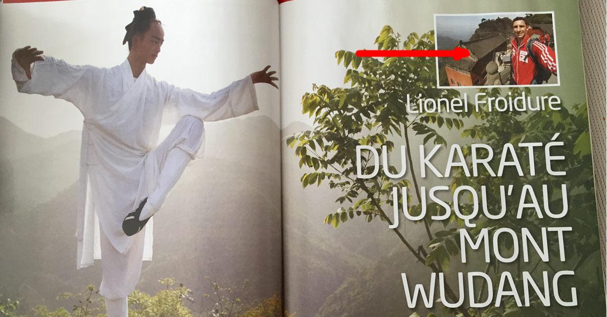 Du karaté aux Monts Wudang [Taichi Magazine]