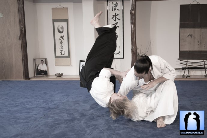 Kokyu Nage Aïkido Léo Tamaki DVD video