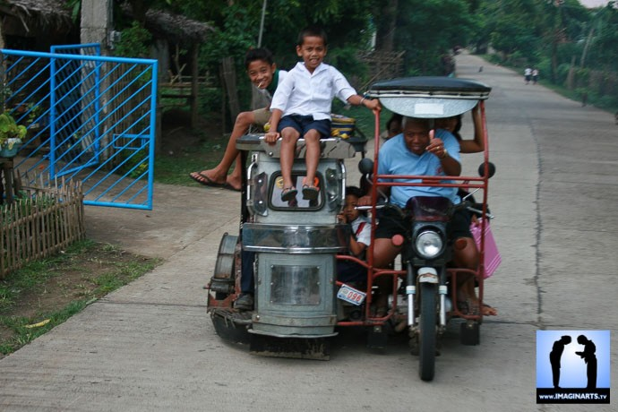 Le confort aux Philippines : tricycles