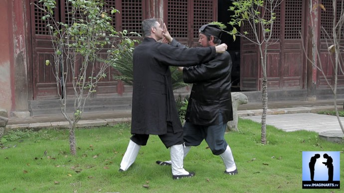 Lionel Froidure et maître You Xuande 游玄德