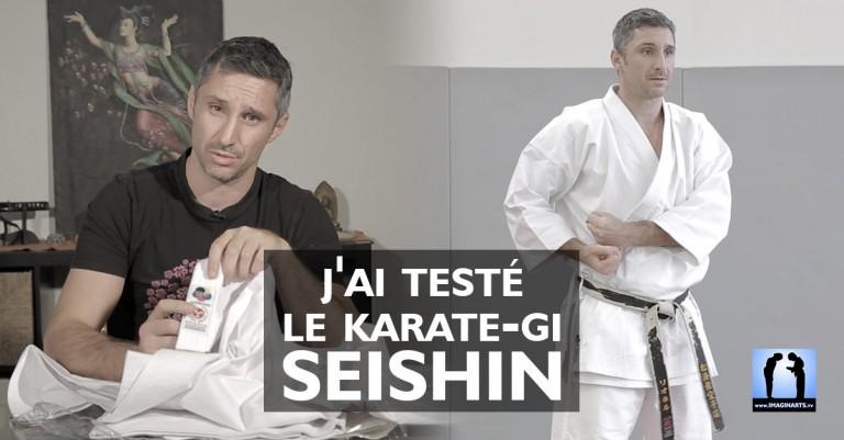 J'ai testé le Karate-Gi Seishin [vidéo]