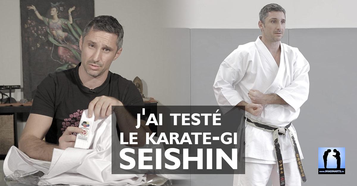 test du karate-gi seishin avec lionel froidure