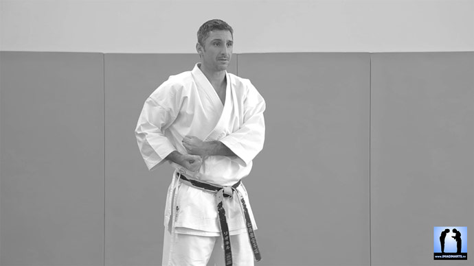 lionel seishin karate-gi kimono de Jesse Enkamp