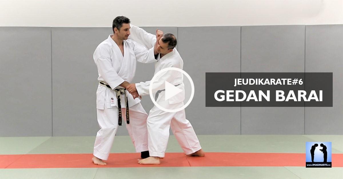 gedan barai karate - lionel froidure