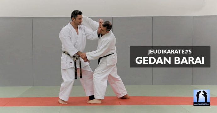 gedan barai video karate avec Lionel Froidure