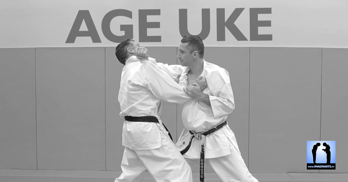 age uke karate blocage avec lionel froidure video