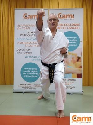christian cabantous cami karate cancer