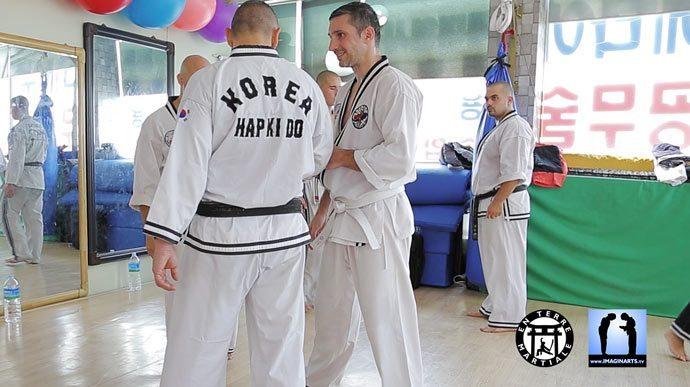 Lionel Froidure en Corée Hapkido JJK