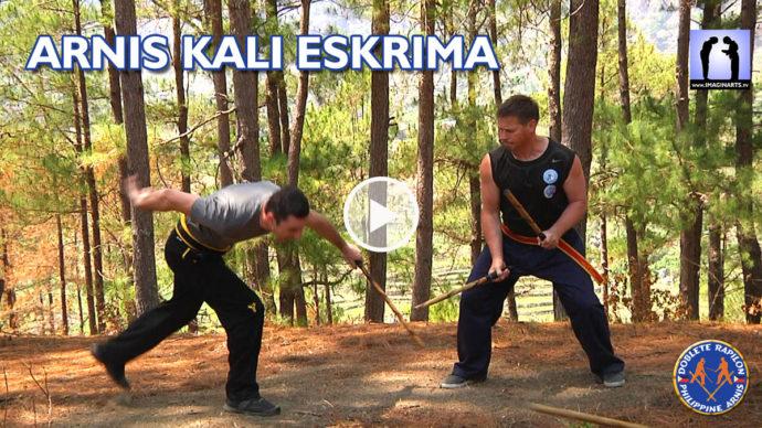 pack 5 DVD Arnis Kali Eskrima 6h de vidéo