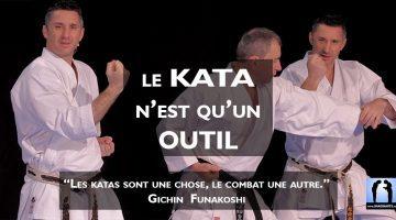 le kata est un outil du karaté avec Lionel Froidure