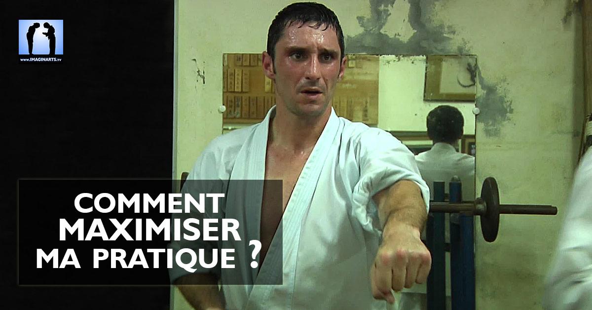 maximiser ma pratique mon karate avec Lionel Froidure