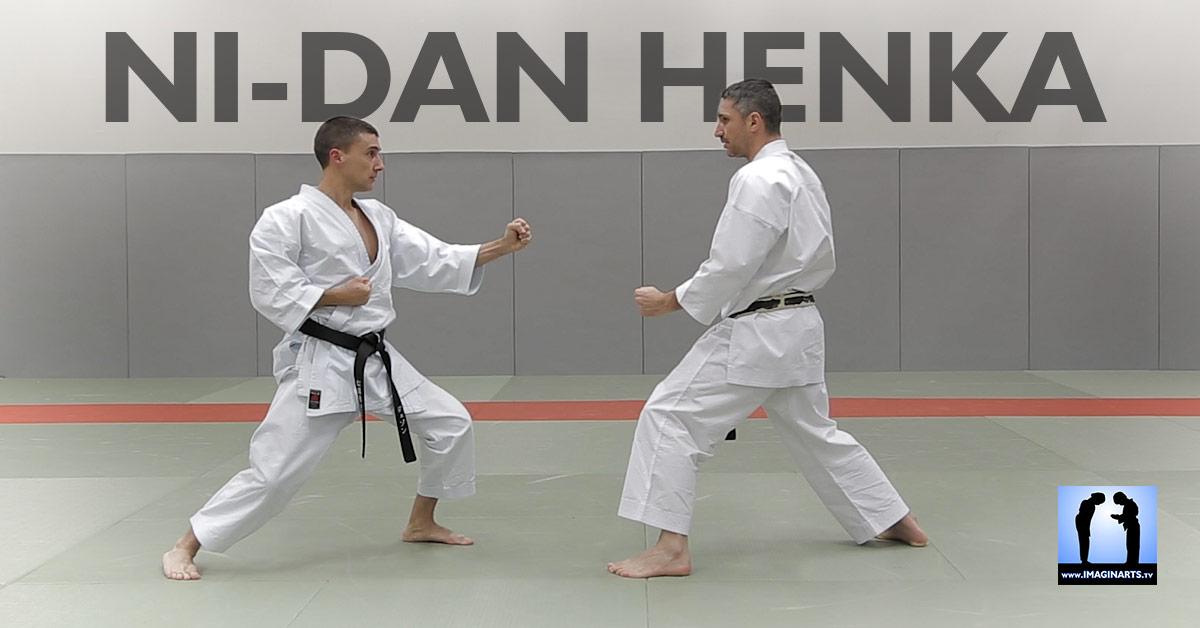 Ni-dan henka karate shotokan avec Lionel Froidure