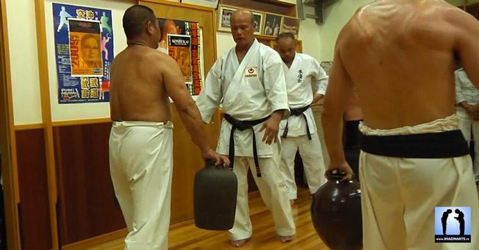 okinawa karate nigiri game