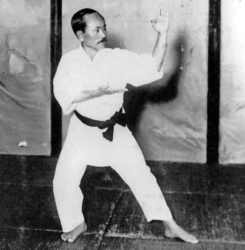 funakoshi sensei kanu dai