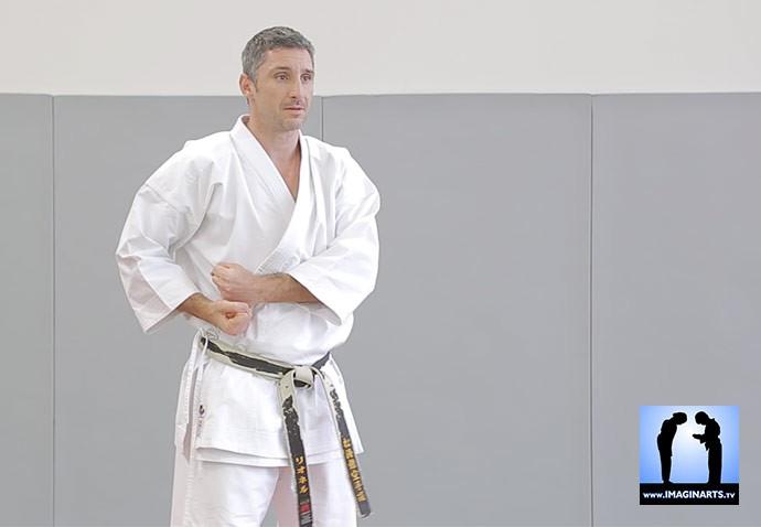lionel en karate-gi seishin