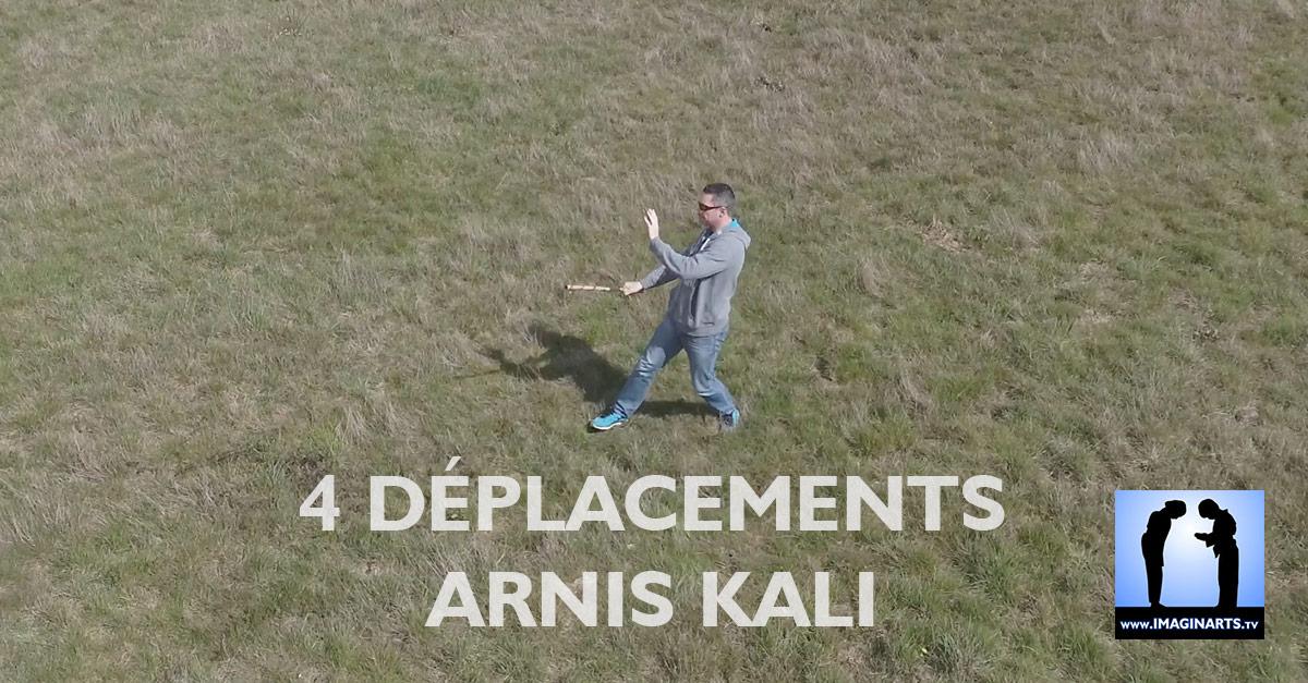 4 déplacements arnis kali eskrima