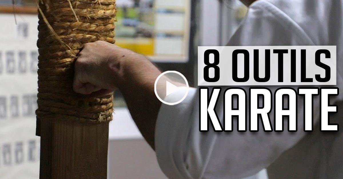 8 Outils du Karaté – Makiwara, Sunabukuro, Chichi… Vidéo