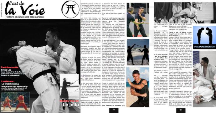 l'art de la voie - magazine arts martiaux
