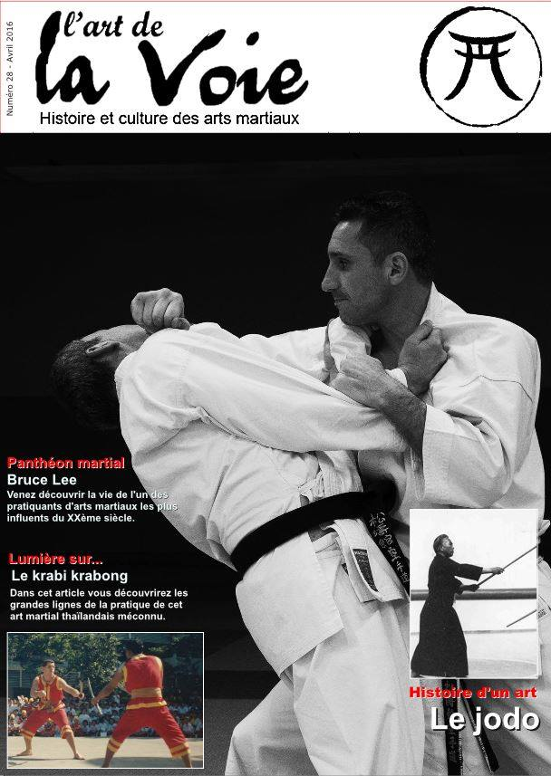 magazine Art de la Voie avec Lionel Froidure en couverture