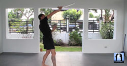 ginunting arnis kali aux Philippines avec Lionel Froidure