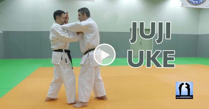 Juji Uke le blocage en croix de karate