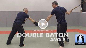 double bâton sur attaque en revers Lionel Froidure