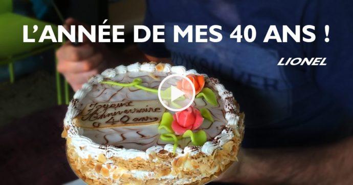 Lionel Froidure : l'année de mes 40 ans
