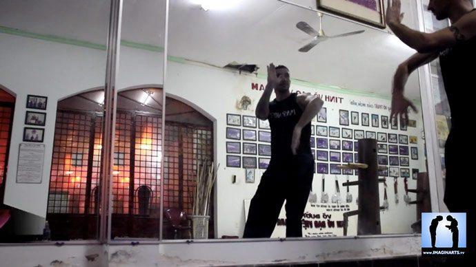 miroir karate et arts martiaux avec Lionel Froidure