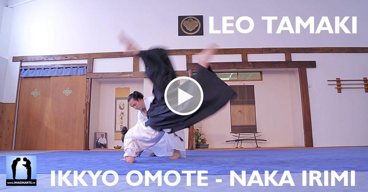 Ikkyo Omote avec Naka Irimi - Léo Tamaki