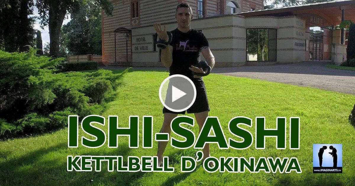 9 exercices Ishi Sashi (Kettlebell) en Karaté