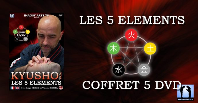 kyusho 5 éléments - coffret collector 5 DVD