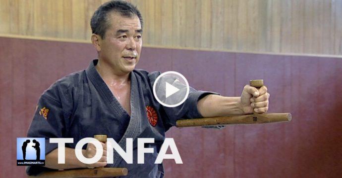 Zenei Oshiro Okinawa Kobudo Tonfa