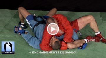 4 enchaînements de Sambo [vidéo]