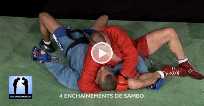 vidéo 4 enchainements sambo