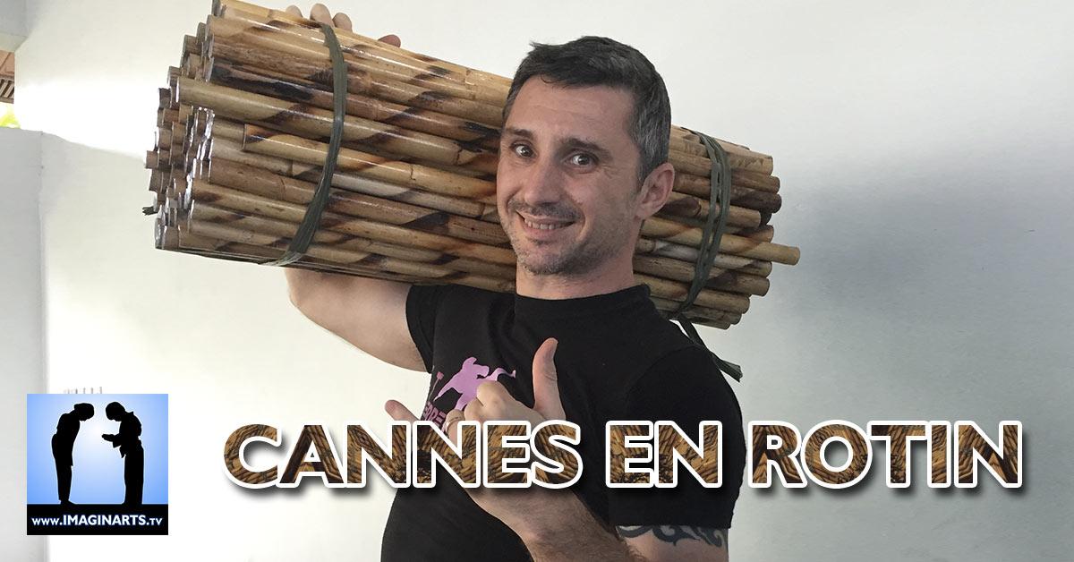 Cannes en rotin pour les arts martiaux [vidéo]