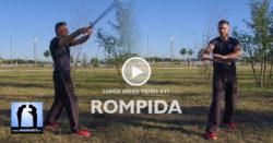 Rompida, enchaînement traditionnel d'Arnis Kali avec Lionel Froidure