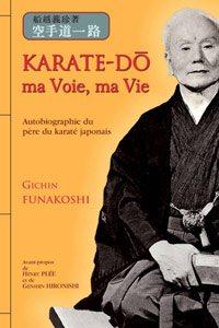 livre karaté maître Funakoshi biographie