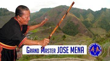 Grand Master José Mena - Arnis Doblete Rapilon