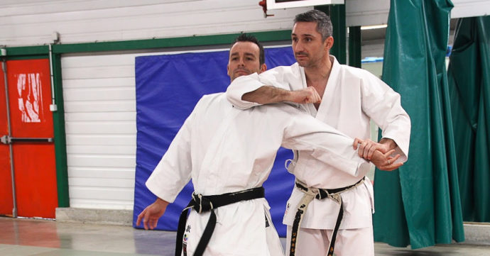 contexte : application karate lionel froidure