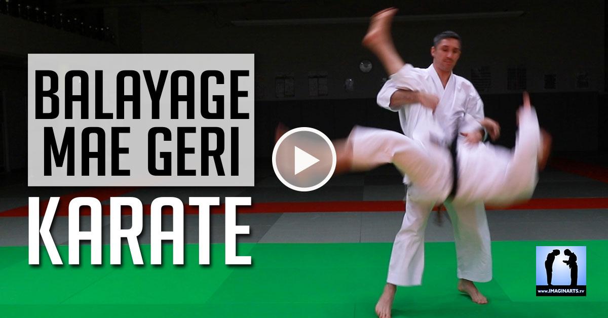Balayage sur Mae Geri – Jeudi Karaté [vidéo]