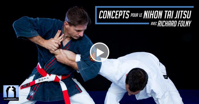 Concepts pour le Nihon Tai Jitsu DVD trailer Richard Folny