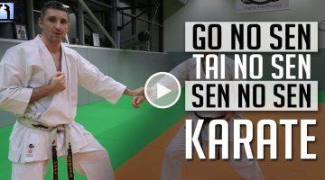 Go, Tai et Sen No Sen – Jeudi Karaté [vidéo]