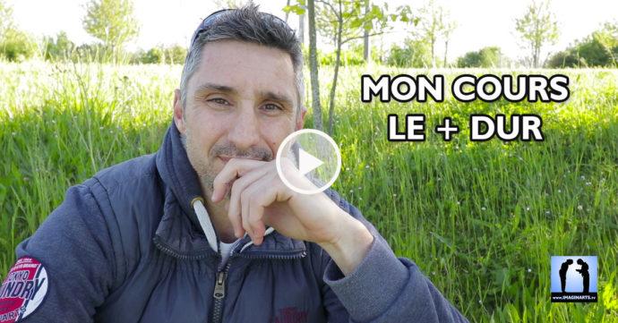 mon cours de karaté le plus dur - vlog lionel Froidure