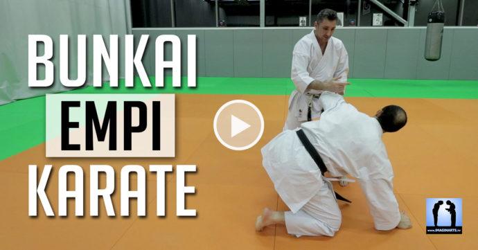 Karate - Bunkai empi - Bunkai Enpi