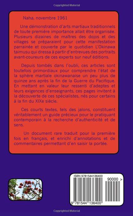 dernière couverture livre kobudo jean-chartes juster
