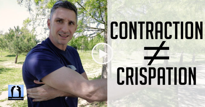 contraction ≠ crispation en karate
