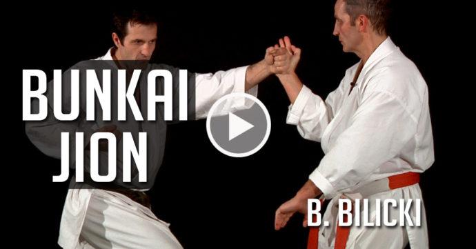 karate bunkai jion bernard bilicki