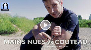 Mains nues contre couteau – Arnis Kali [vidéo]